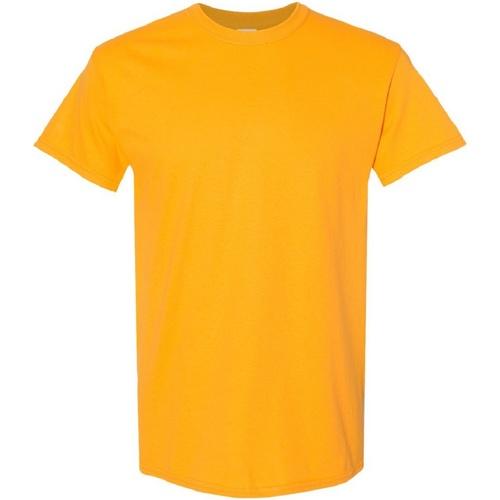 vaatteet Miehet Lyhythihainen t-paita Gildan Heavy Gold