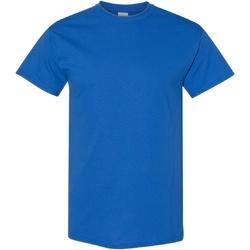 vaatteet Miehet Lyhythihainen t-paita Gildan Heavy Royal