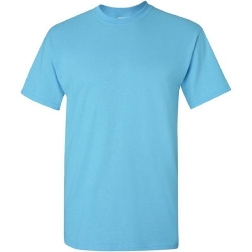 vaatteet Miehet Lyhythihainen t-paita Gildan Heavy Sky