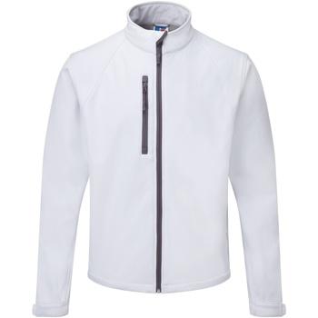 vaatteet Miehet Tuulitakit Russell 140M White