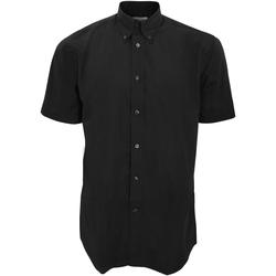 vaatteet Miehet Lyhythihainen paitapusero Kustom Kit KK100 Black