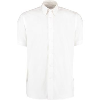 vaatteet Miehet Lyhythihainen paitapusero Kustom Kit KK100 White