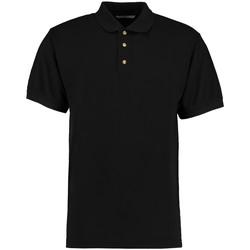 vaatteet Miehet Lyhythihainen poolopaita Kustom Kit KK400 Black