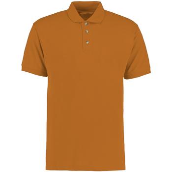 vaatteet Miehet Lyhythihainen poolopaita Kustom Kit KK400 Orange