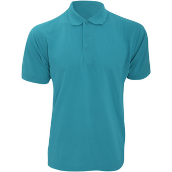 vaatteet Miehet Lyhythihainen poolopaita Kustom Kit KK403 Turquoise