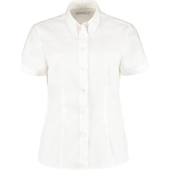 vaatteet Naiset Paitapusero / Kauluspaita Kustom Kit KK701 White