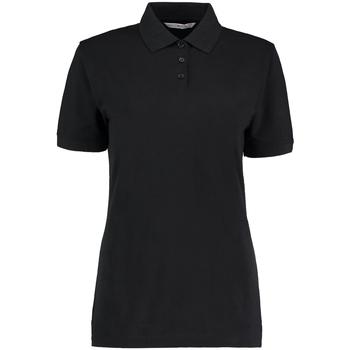 vaatteet Naiset Lyhythihainen poolopaita Kustom Kit Klassic Black