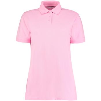 vaatteet Naiset Lyhythihainen poolopaita Kustom Kit Klassic Pink
