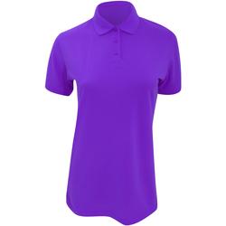 vaatteet Naiset Lyhythihainen poolopaita Kustom Kit Klassic Purple