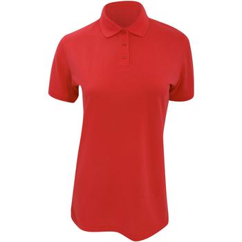 vaatteet Naiset Lyhythihainen poolopaita Kustom Kit Klassic Red