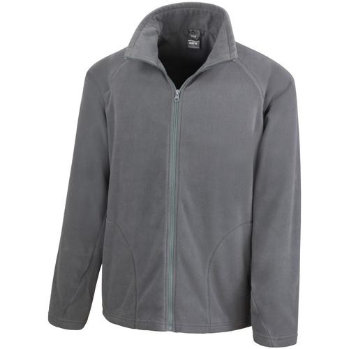 vaatteet Miehet Fleecet Result R114X Charcoal
