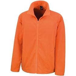 vaatteet Miehet Fleecet Result R114X Orange