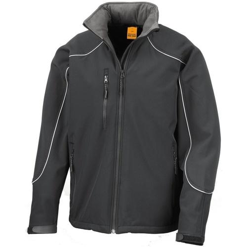 vaatteet Miehet Tuulitakit Result R118X Black