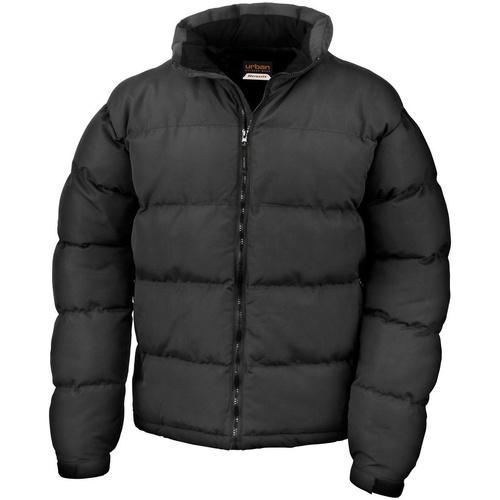 vaatteet Miehet Toppatakki Result R181M Black