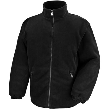 vaatteet Miehet Fleecet Result Polartherm Black