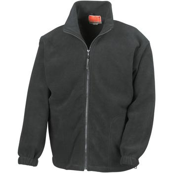 vaatteet Miehet Fleecet Result R36X Black
