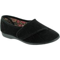 kengät Naiset Tossut Gbs Audrey Velcro Black