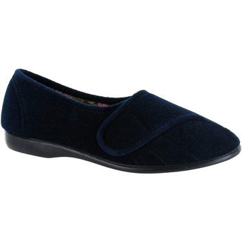 kengät Naiset Tossut Gbs Audrey Velcro Navy