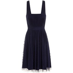 vaatteet Naiset Lyhyt mekko Little Mistress  Navy