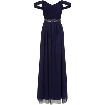 vaatteet Naiset Pitkä mekko Little Mistress  Navy