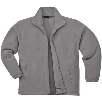 vaatteet Miehet Fleecet Portwest Argyll Grey