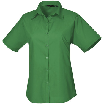 vaatteet Naiset Paitapusero / Kauluspaita Premier PR302 Emerald