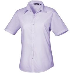 vaatteet Naiset Paitapusero / Kauluspaita Premier PR302 Lilac