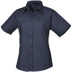 vaatteet Naiset Paitapusero / Kauluspaita Premier PR302 Navy