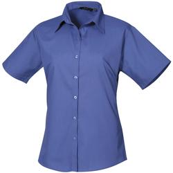 vaatteet Naiset Paitapusero / Kauluspaita Premier PR302 Royal