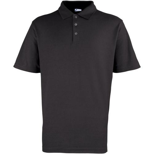 vaatteet Miehet Lyhythihainen poolopaita Premier Stud Black