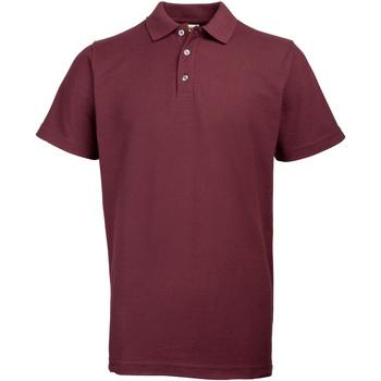 vaatteet Miehet Lyhythihainen poolopaita Rty Workwear Heavyweight Burgundy