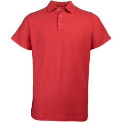 vaatteet Miehet Lyhythihainen poolopaita Rty Workwear Heavyweight Red