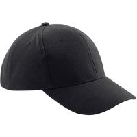 Asusteet / tarvikkeet Lippalakit Beechfield B65 Black