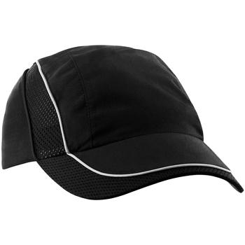 Asusteet / tarvikkeet Miehet Lippalakit Beechfield BC182 Black