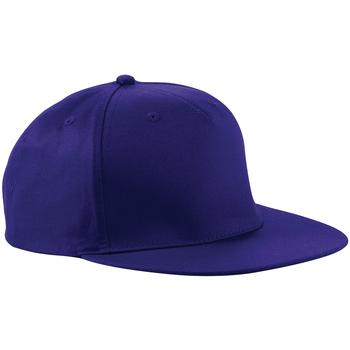 Asusteet / tarvikkeet Lippalakit Beechfield Retro Purple