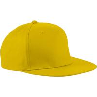 Asusteet / tarvikkeet Lippalakit Beechfield Retro Yellow