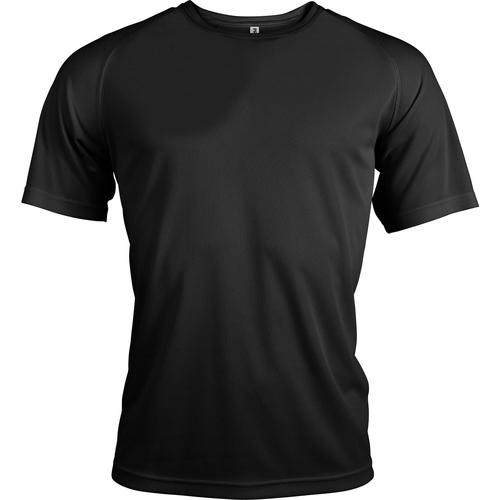 vaatteet Miehet Lyhythihainen t-paita Kariban Proact PA438 Black