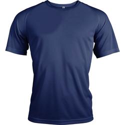vaatteet Miehet Lyhythihainen t-paita Kariban Proact PA438 Navy