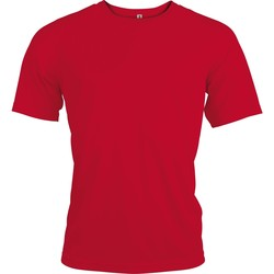 vaatteet Miehet Lyhythihainen t-paita Kariban Proact PA438 Red