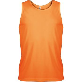 vaatteet Miehet Hihattomat paidat / Hihattomat t-paidat Kariban Proact PA441 Orange
