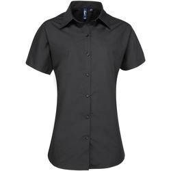 vaatteet Naiset Paitapusero / Kauluspaita Premier PR309 Black