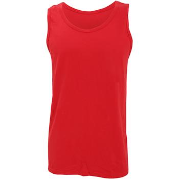 vaatteet Miehet Hihattomat paidat / Hihattomat t-paidat Gildan 64200 Red