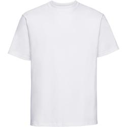 vaatteet Miehet Lyhythihainen t-paita Russell 215M White