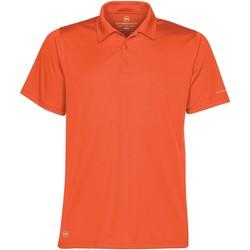 vaatteet Miehet Lyhythihainen poolopaita Stormtech ST669 Orange