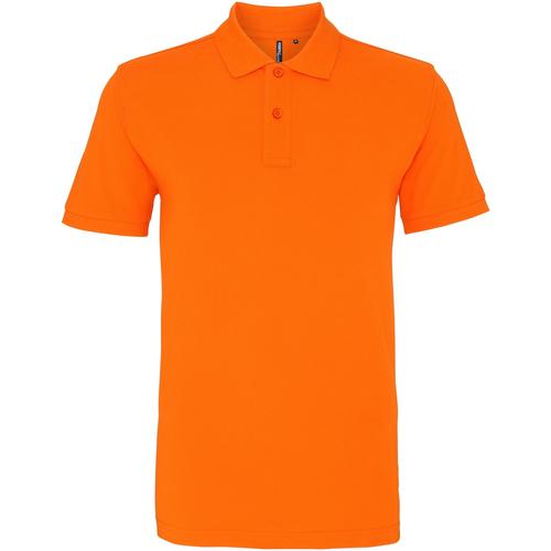 vaatteet Miehet Lyhythihainen poolopaita Asquith & Fox AQ010 Orange