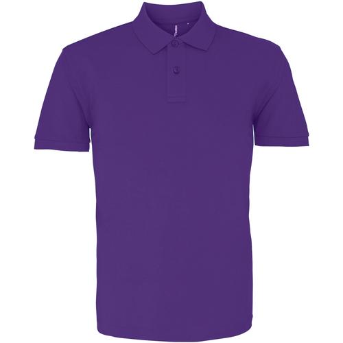 vaatteet Miehet Lyhythihainen poolopaita Asquith & Fox AQ010 Purple