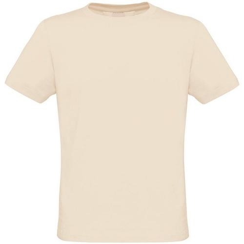 vaatteet Miehet Lyhythihainen t-paita B And C Biosfair Natural