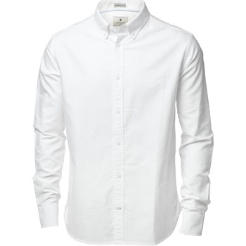 vaatteet Miehet Pitkähihainen paitapusero Nimbus NB45M White