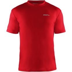 vaatteet Miehet Lyhythihainen t-paita Craft CT086 Red