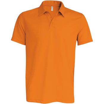 vaatteet Miehet Lyhythihainen poolopaita Kariban Proact PA482 Orange